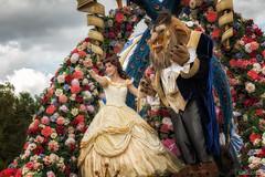 Beauty and the Beast (Allen Castillo) Tags: waltdisneyworld wdw disney magickingdom festivaloffantasy beautyandthebeast belle beast disneyprincess parade nikond610 nikon28300