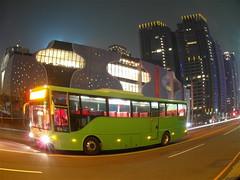 台中國家歌劇院  National Taichung Theater (小 亞) Tags: 台中市 台中 台中國家歌劇院 公車 魚眼