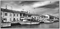 Everything you've ever smelled (giannivignola) Tags: 2017 paesaggi cesenatico biancoenero bw landscape porto wow giannivignola flickrtravelaward