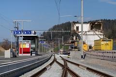 SOB Station Brunnadern-Neckertal (Kecko) Tags: 2017 kecko switzerland swiss schweiz suisse svizzera ostschweiz brunnadern neckertal toggenburg sg public transport railroad railway bahn station bahnhof eisenbahn verkehr europe sob südostbahn swissphoto geotagged geo:lat=47337170 geo:lon=9130310
