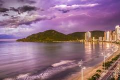 storm (rqserra) Tags: camboriú camboriu praia mar nuvens cidade tempestade raio agua prédios beach ocean clouds city storm water building rqserra brazil lightning