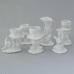 ceramix.co.za-Set of 6 White Bunny Egg Cups (ceramix.co.za) Tags: ceramic madeinsouthafrica eggcups handmade ceramix rabbit easter easterbunny bunny glazed