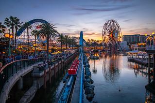Paradise Pier Sunset 3_24_2017