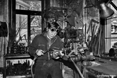 THE FORGE OF THE MASTER BLACKSMITH - (Marzetti Gianfranco) Tags: forge fucina mastroferraio valgardena