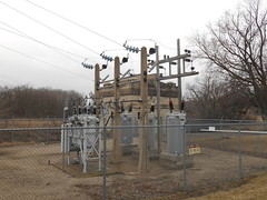 Otter Tail Power - Otter Tail County, MN (NDLineGeek) Tags: substation 2400v 41600v otp explored
