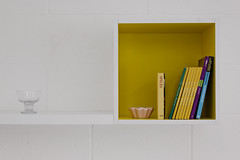 Warrenmount School _ Paul Keogh Architects _ Dublin _ 2016 _ Home Economics Detail (SteMurray) Tags: approved paul keogh ireland irish stemurray steie architecture ikea design classroom renovation school education colours rainbow white seating windows chairs home economics
