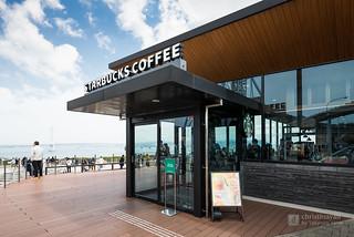 Exterior view of Starbucks Coffee, Awaji Service Area Branch (スターバックス コーヒー 淡路サービスエリア(下り線)店)