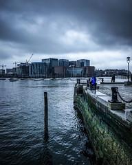 Rainy Long Wharf (TomBerrigan) Tags: boston mass long wharf ipod running seenonmyrun rain clouds harbor massachusetts england new ocean pier atlantic seaport
