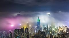 Hong Kong (TaiNg0415) Tags: hk 香港 雲霧 nikon 太平山頂