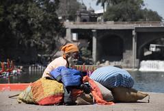 wise man and all his possessions (JohnMawer) Tags: maharashtra nasik nashik india in
