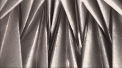 Waterbomb bases (Danielle Verbeeten) Tags: art paper origami kunst danielle papier paperfolding papiroflexia corrugation folding vouwen magicball vouwkunst papierkunst papiervouwen waterbombbases ingetheunissen danielleverbeeten