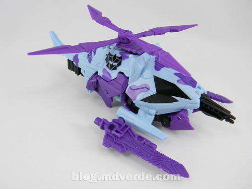 Transformers Vortex Deluxe - G2 Fall of Cybertron - modo alterno