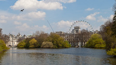 Buckingham Palace and St. James Park (ed 37 ~~) Tags: park greatbritain england green london eye water wheel canon palace buckinghampalace greenpark ef24105mmf4lisusm canoneosd canoneos5dmarkii