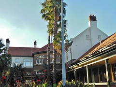 Older Sydney (mikecogh) Tags: heritage palms grand veranda olympicpark chimneys canna