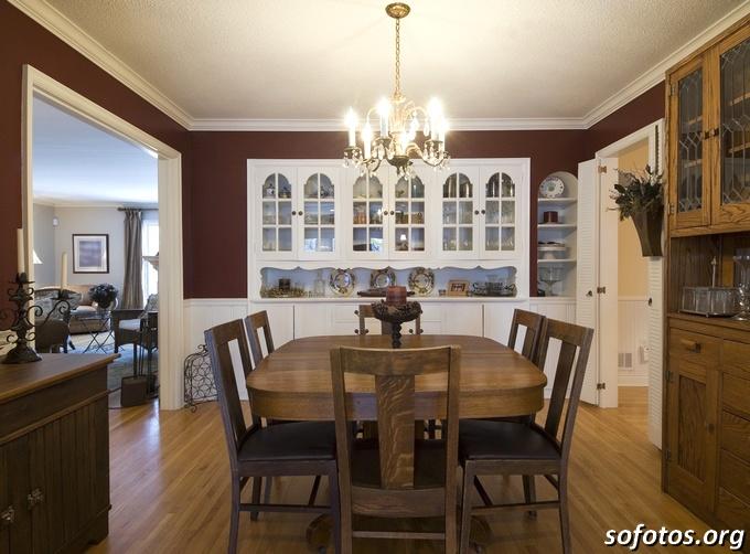 Salas de jantar decoradas (100)