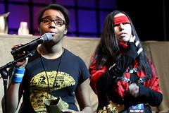 Vic Mignogna supporters (Gage Skidmore) Tags: arizona phoenix metal trek star center full convention vic comicon continues alchemist mignogna 2013