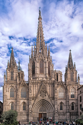 Cathedral of the Holy Cross and Saint Eulalia - Barcelona