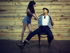 ML2 (mtsotophotography) Tags: cute love fashion photography couple pinup greaser