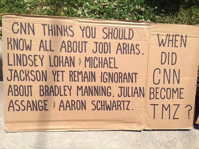 #CNN thinks you should know all about Jodi Arias but remain ignorant about #BradleyManning & #AaronSchwartz