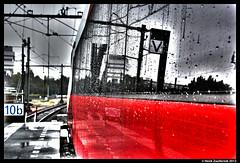 NSH 4805, Rotterdam 12-10-2012 (Henk Zwoferink) Tags: rotterdam ns henk hispeed centraal nsr nmbs fyra ansaldobreda v250 zwoferink