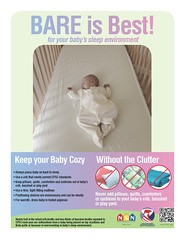 Bare is Best (USCPSC) Tags: baby sleep bare safe cribs cpsc