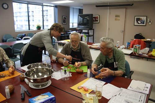 Men's Cooking Club - April 2013 - SPRINT and Alzheimer Society 160