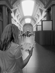 Ellen in the Prado Museum (stevepeterson3) Tags: madrid museum ellen prado