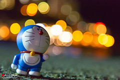 I want to meet Doraemon :)) (Masahiko Futami) Tags: city anime japan night canon toy robot photo asia shoot photographer manga culture illumination hobby photograph 日本 doraemon worm otaku boke doraemonn eos5dmarkiii citytraveler