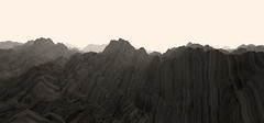 zebra-A_1 (peder.norrby) Tags: mountains opengl generative fractal mir procedural perlinnoise aftereffects trapcode