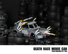 Lego Porsche 911 - Death Race (Malte Dorowski) Tags: car race movie death lego 911 porsche 1990 964 foitsop