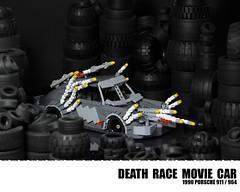 Lego Porsche 911 - Death Race (Malte Dorowski) Tags: car race movie death lego 911 porsche 1990 964 foitsop