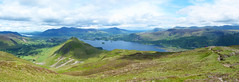 View from Top of Maiden Moor (Lazy B) Tags: lake june wonder nationalpark lakedistrict tracks hills cumbria moors derwentwater paths keswick catbells maidenmoor 2013 fz150 rotherhammetroramblers
