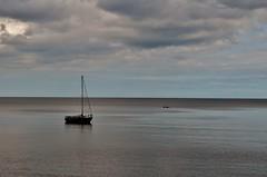 Looking out to sea..... (stavioni) Tags: sea seascape english beach la boat torquay channel manche torbay babbacombe oddicombe