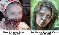 artist zombie makeup zombies zed