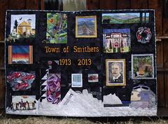 Smithers 2013 Centennial Quilt by Carli Heinrichs of Good Earth Quilting (Good Earth Quilting) Tags: project centennial quilt smithers 2013 goodearthquilting carliheinrichs