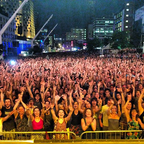 Montreal jazz festival. That's a lot...