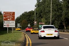 Where are we going? (MJParker1804) Tags: motion chevrolet spider driving 911 cruising ferrari turbo porsche corvette meet supercar c6 f355 scd f12 v12 996 355 berlinetta supercardriver f12berlinetta