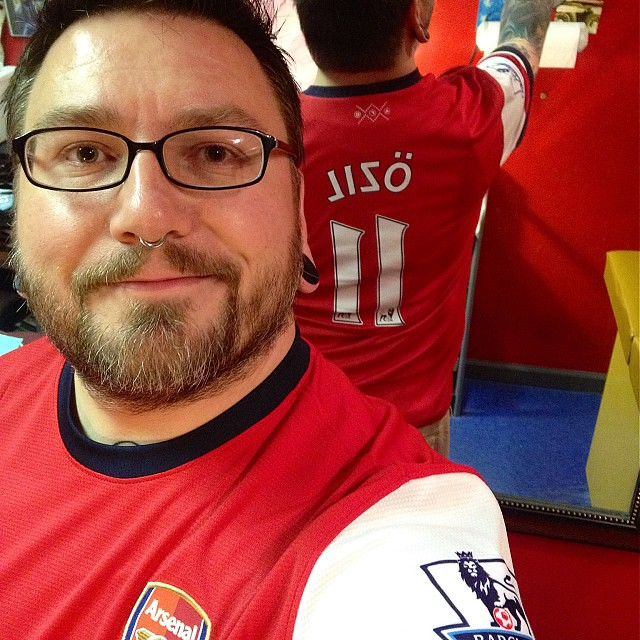 Youd have a goofy look on your face too if your team was going alone to the top of the table... COYG! #epl #premierleague #arsenal #afc #gunners #gooner #coyg #arsenalnyc #nycarsenal #arsenalusa #arsenalamerica #moderngooner #sttotteringhamsday #byfar