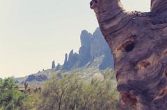 Arizona - Superstitious Mountains (ltgustin) Tags: arizona sky mountains southwest tree nature outdoors patterns