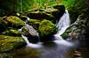 Ledbetter Waterfall (Bradley Nash Burgess) Tags: longexposure autumn fall nature water creek river waterfall nc nikon northcarolina nantahala wnc ledbetter westernnc nantahalagorge d7000 nikond7000 ledbettercreek