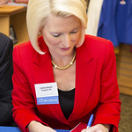"""<b>Callista Gingrich Book Signing_100513_0022</b><br/> Photo by Zachary S. Stottler Luther College '15<a href=""""http://farm4.static.flickr.com/3723/10181162986_a6a558b34c_o.jpg"""" title=""""High res"""">∝</a>"""