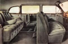 1941 Lincoln Custom Sedan Interior (aldenjewell) Tags: sedan interior lincoln custom brochure 1941