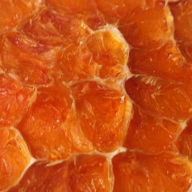 Arancia. Arancio. Arancione.