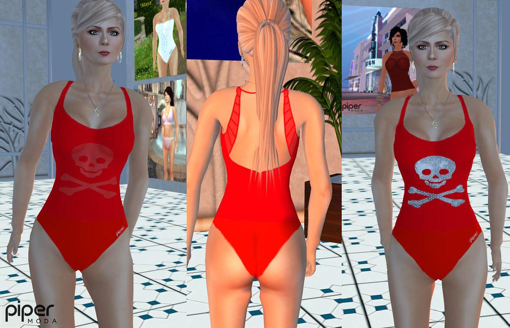 11e3b940922b1 Piper Moda 'Jolly' swimsuit (karenpiper_uk) Tags: woman fashion pirates moda  sl