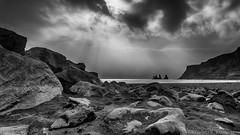Reynisdrangar - Vk (Kristinn R.) Tags: sea iceland sand nikon rocks vk reynisdrangar d3x nikonphotography kristinnr