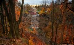 november colours at decew (Rex Montalban Photography) Tags: longexposure autumn fall colours hdr morningstarmill neutraldensityfilters rexmontalbanphotography decewwaterfalls