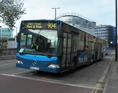 CT Plus MCA15 (BX02 YZS) Bristol 25/11/13 (jmupton2000) Tags: road park red bus london mercedes benz bath ride general arrow artic articulated bendy citaro bx02yzs mal30