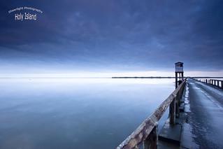 Blue yonder - Holy Island , Lindisfarne