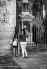Mother and Daughter (gwpics) Tags: uk greatbritain england people blackandwhite monument monochrome person mono unitedkingdom streetphotography lifestyle hampshire southampton titanic society socialdocumentary socialcomment streetpics strasenfotograpfie