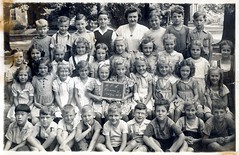 Beamsville Public School Room 11 (haunted snowfort) Tags: school ontario canada students vintage children mom antique mother niagara class teacher barbara lincoln oldphoto 7yearsold kingstreet grade2 1947 richardson room11 publicschool bps beamsville oldschoolphoto clasphoto barbararichardson beamsvillepublicschool